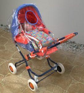 Puppenwagen Regenschutz