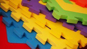 puzzlematte test puzzlteile fuer kinder