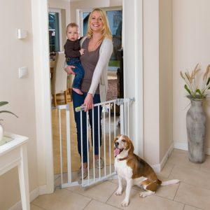 Treppenschutzgitter Kind und Hund