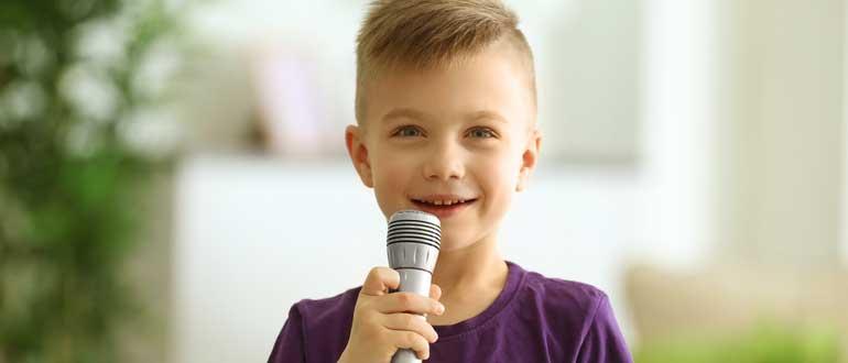 kinder mikrofon test