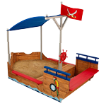 sandkasten mit dach piratenschiff