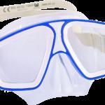 taucherbrille geteilt