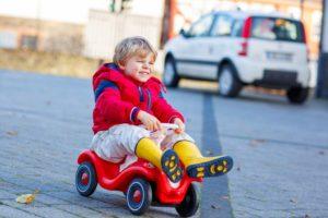 Kinderauto-Größe