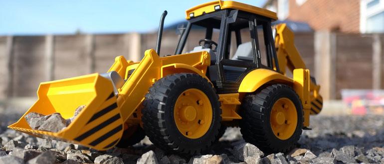 ferngesteuerter traktor-test