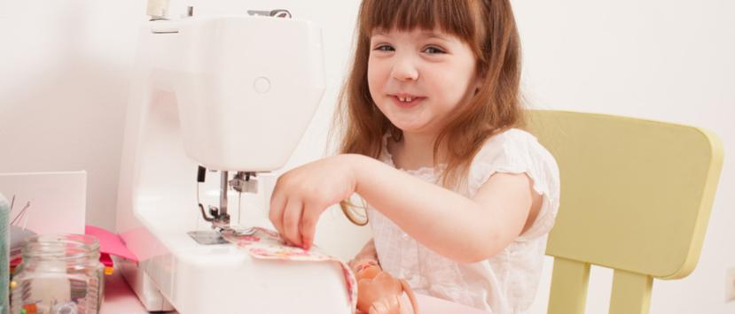 Kindernähmaschine Test