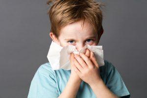 Erkältung behandeln Babys