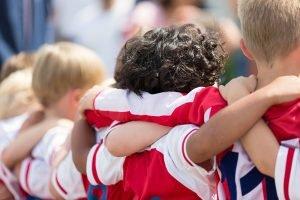 Mannschaftssportarten für Kleinkinder