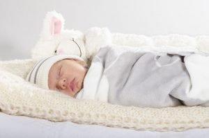Babys richtig schlafen legen