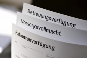 Unterschied Patientenvollmacht