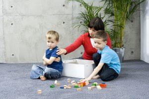 Kinder haben keine Lust auf Putzspiele