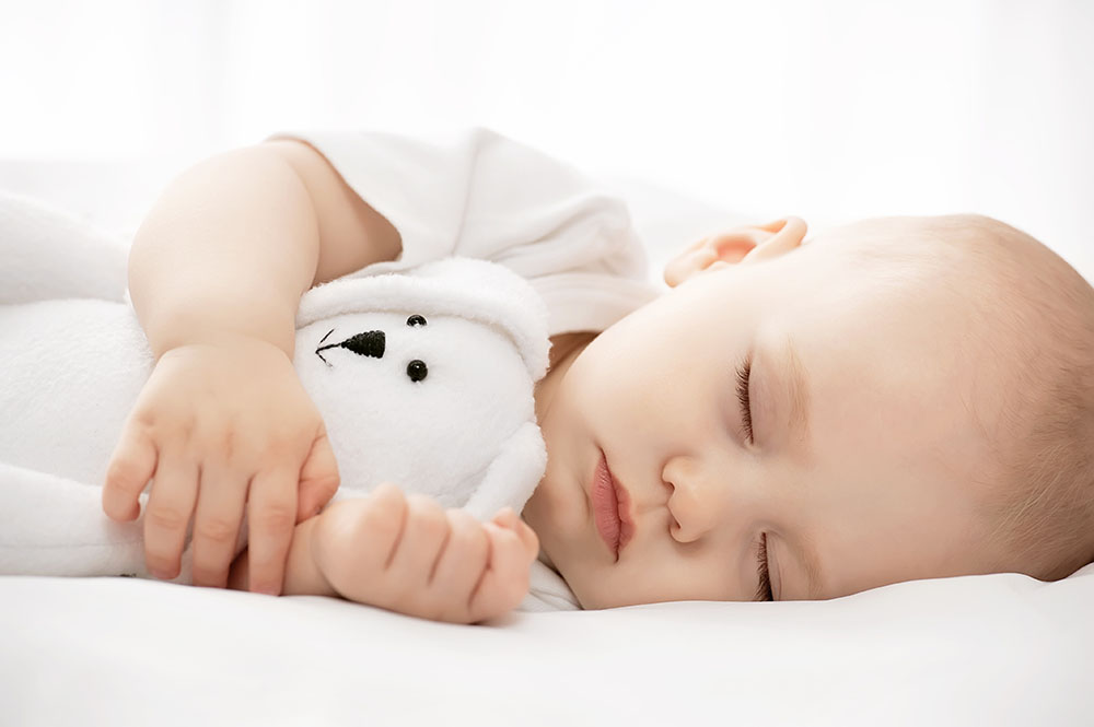 Säugling richtig schlafen legen