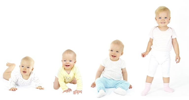 Entwicklung vom Baby zum Kleinkind