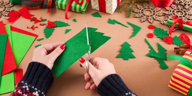 Basteln Zu Weihnachten Bastelideen Zum Nachmachen Fur Die Kita Und