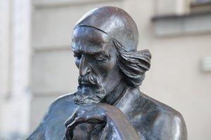"Bronzeskulptur ""Comenius"", Potsdam-Babelsberg"