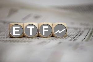 ETF auf Würfeln