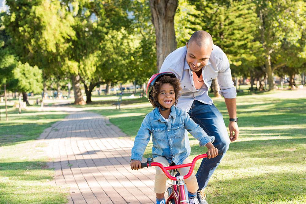 Fahrradfahren beibringen