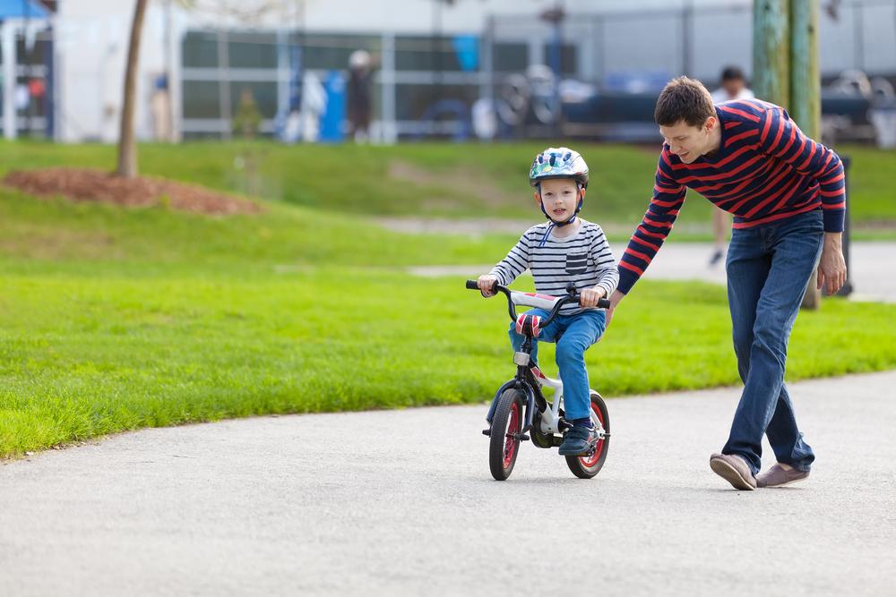 Wann lernen Kinder Fahrradfahren?
