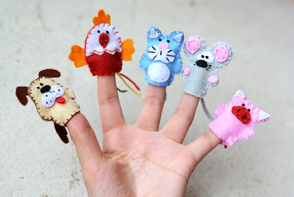 Mit den Händen lernen: meine ersten Fingerspiele