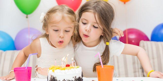 Geburtstag feiern im Kindergarten