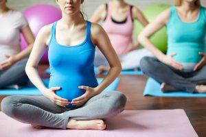 Gymnastik für Schwangere