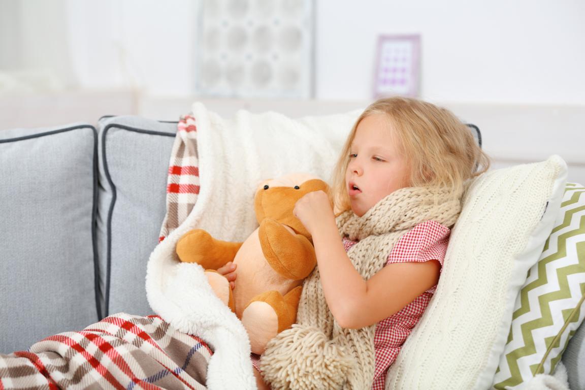 Kinder mit Keuchhusten