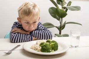 Kind will kein Gemüse essen