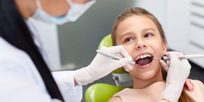 Kinder Zahnproblem