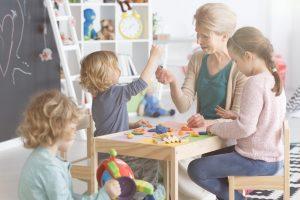 Förderung der Kinder