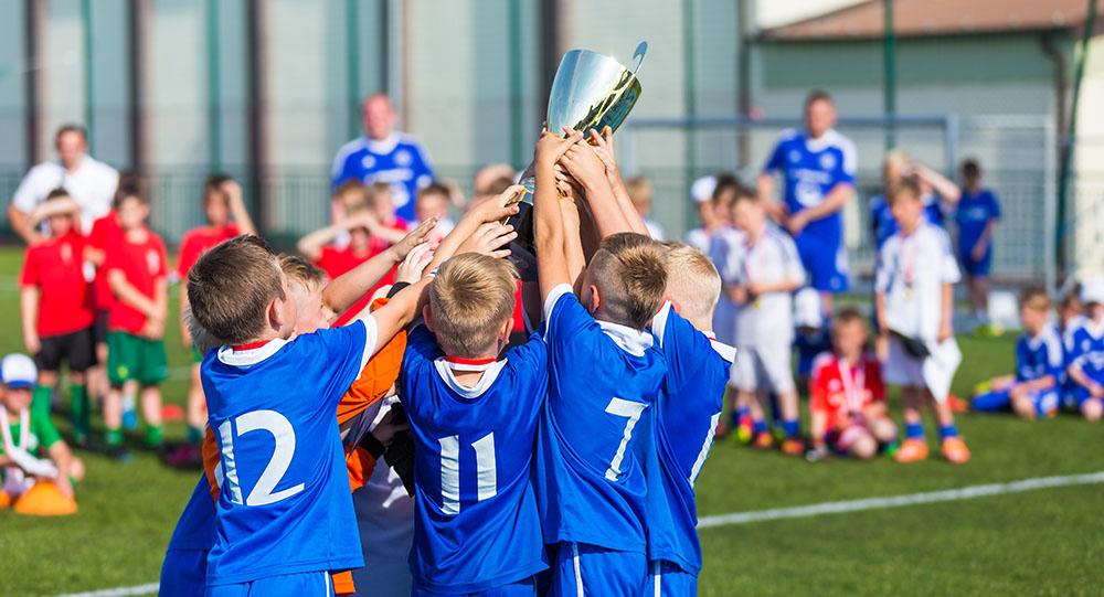 Mannschaftssport für Kinder
