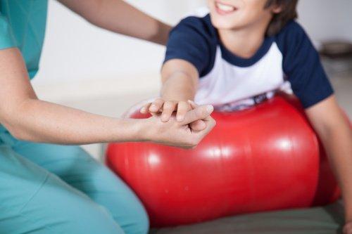 Kinsesiologie bei einem Kind