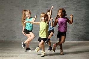Tanzspiele in der Kita