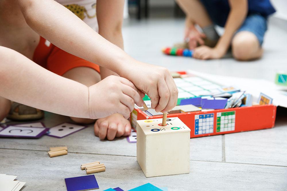 Montessori Konzept Kindergarten