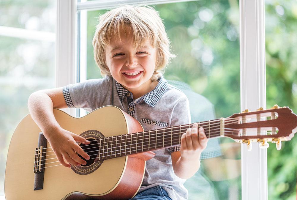 Kind Instrument beibringen