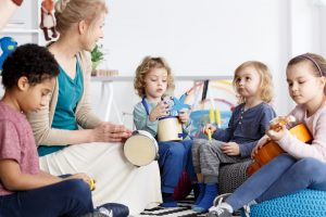 Waldorfkindergärten sind als freie Träger organisiert.