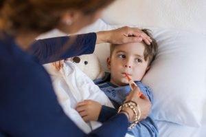 Kein Fieber trotz Schmerzen
