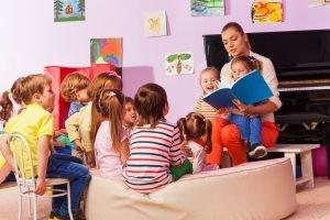 Kindergarten vorlesen