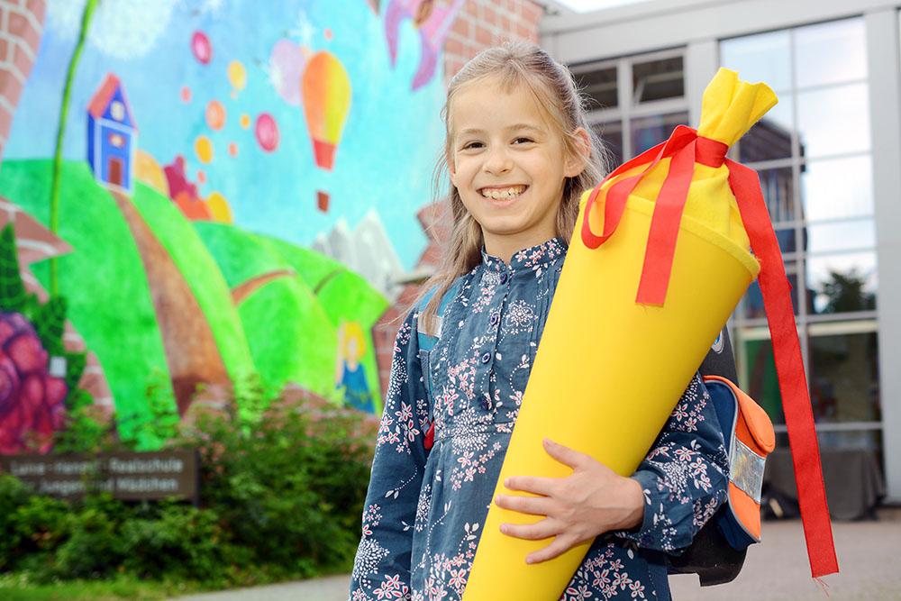 Schultüte für Schulanfang