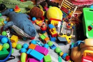 viele Spielsachen