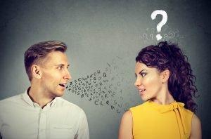 Kommunikationsprobleme zwischen Mann und Frau
