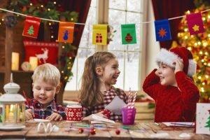 Bilderbuch für Weihnachtsfeier Sterne basteln