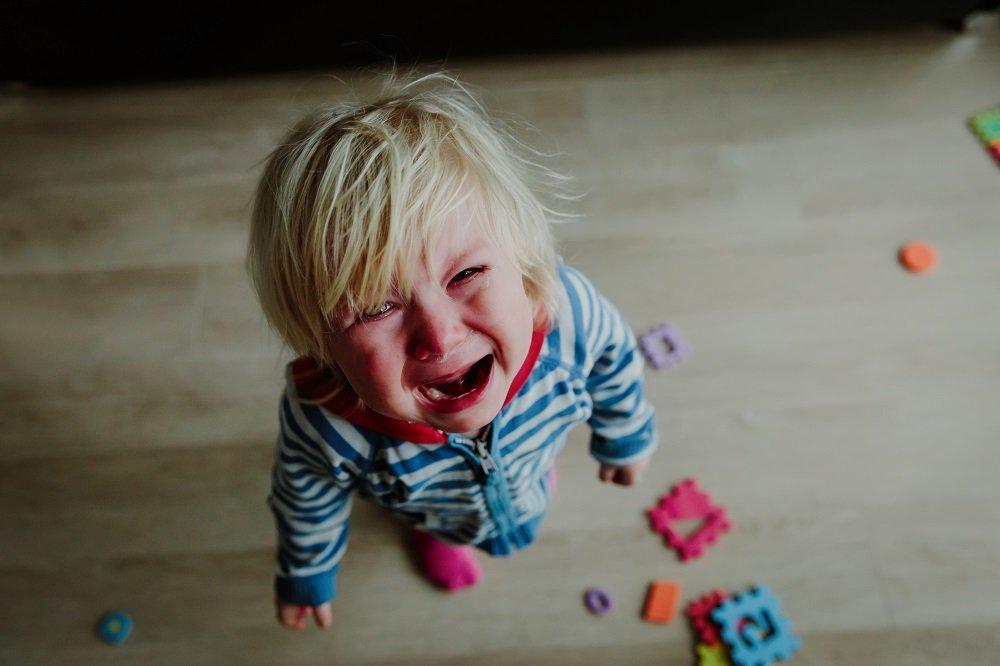 kind steht kurz vor affektkrampf