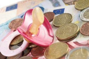 Schnuller und Geld