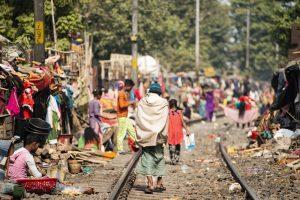 Slums in Indien