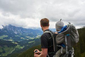 Ausblick beim Wandern