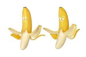 zwei bananen als symbol der phallischen phase bei kindern