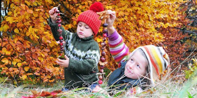 Basteln Mit Kindern Im Herbst Schöne Bastelideen Für Herbstdeko
