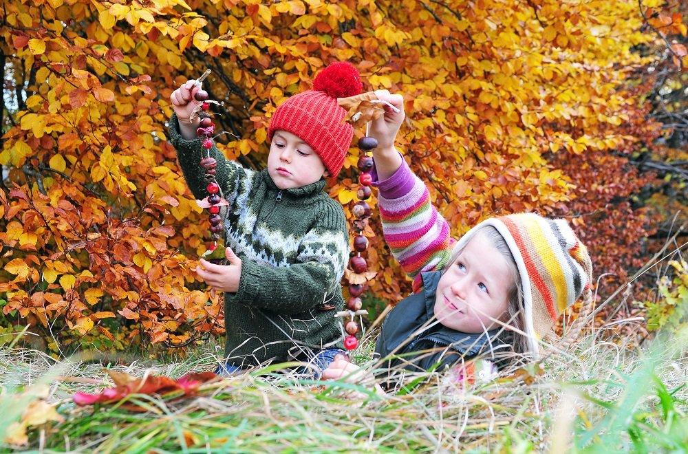 Basteln mit Kindern Herbst