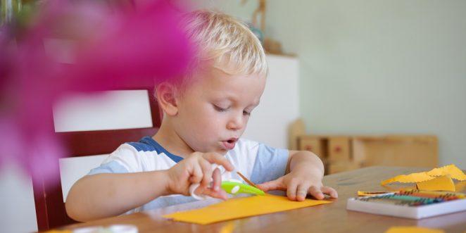 basteln mit papier kinder
