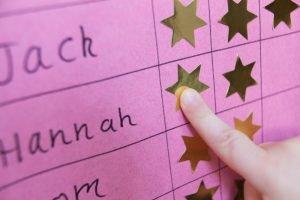 belohnungssystem fuer kinder in der grundschule oder zu hause