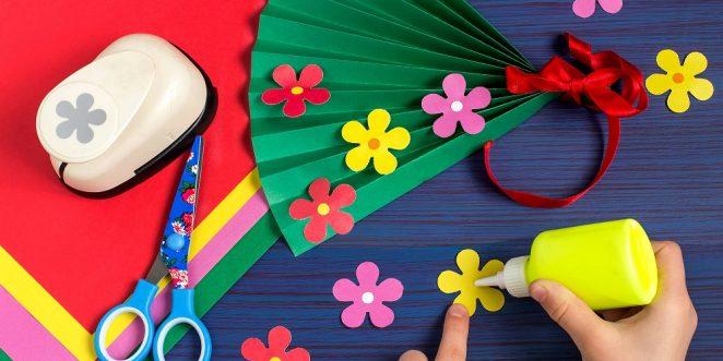 Blumen Basteln Für Kinder Einfache Bastelanleitungen Und Ideen
